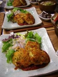 7/27晩ごはん:鶏胸肉のチーズパン粉焼き_a0116684_23122779.jpg