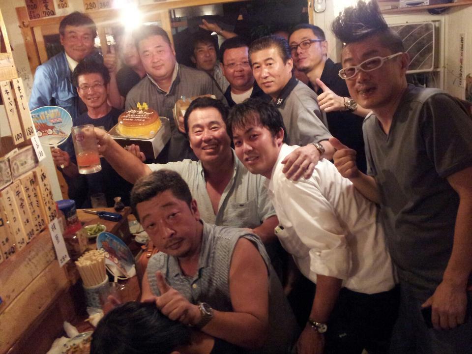 木曜クラブで柳憲ちゃんのバースデー_c0186691_1815279.jpg