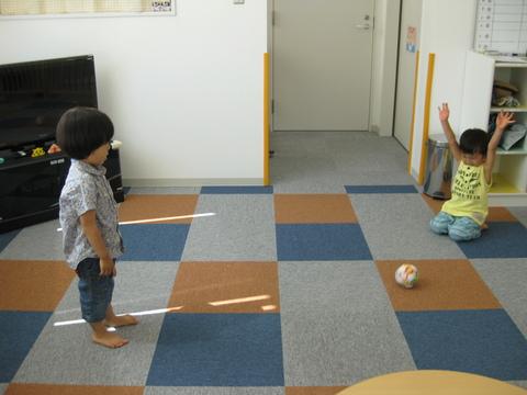 館長とボール遊び!!_b0228113_1546515.jpg