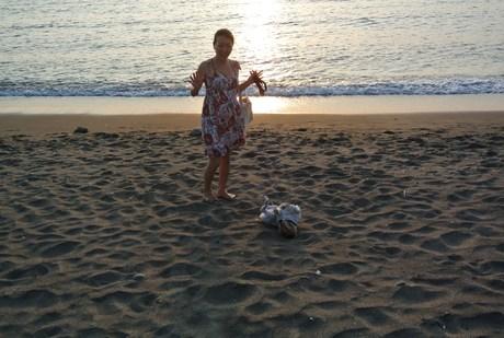 夕日に向かって泳げ。_d0143957_2052453.jpg