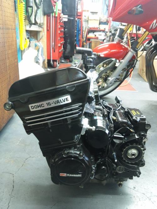 GPZ900R エンジンオーバーホルですなっ。その5_a0163159_16402819.jpg