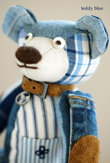 teddy blue baby  テディ ブルーベイビー_e0253364_8461670.jpg