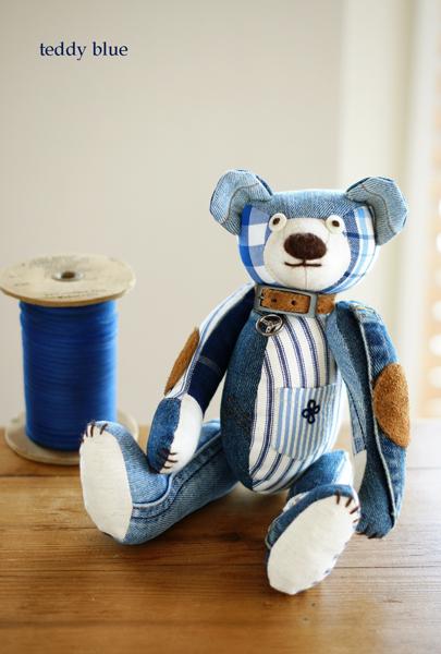 teddy blue baby  テディ ブルーベイビー_e0253364_846523.jpg