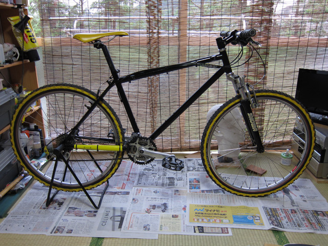 明日は伊那市へ 自転車レストア完了_c0166765_005143.jpg