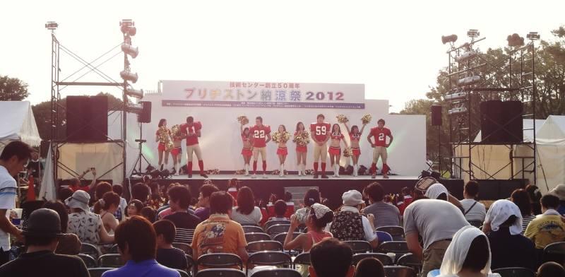 納涼祭に盆踊り_f0059673_2225287.jpg