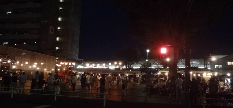 納涼祭に盆踊り_f0059673_22254485.jpg