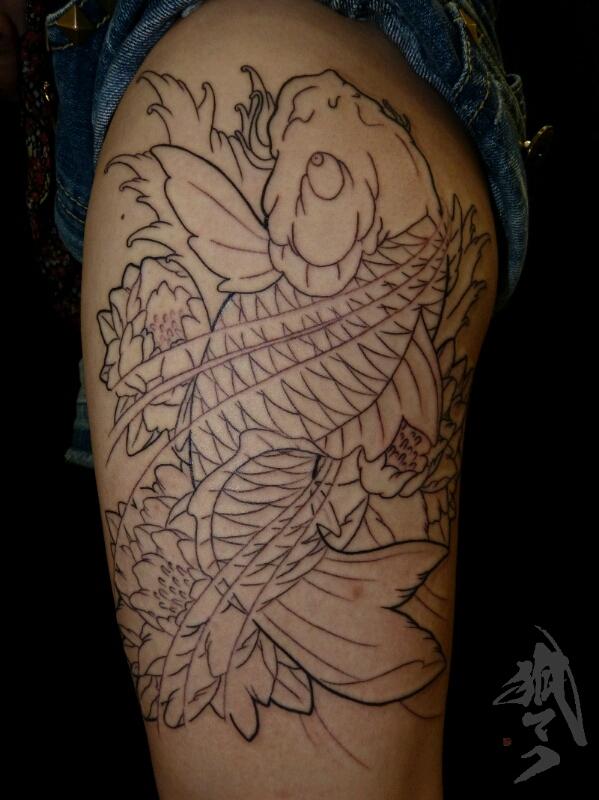 tattooと下絵_e0261276_2501432.jpg