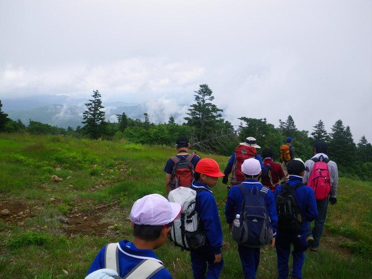 学校登山で蔵王後烏帽子岳へ ~ 2012年7月25日_f0170180_181228.jpg