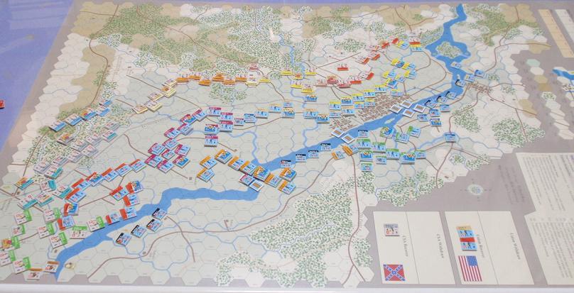 GMT「Across the Rappahannock」より「フレデリックスバーグの戦い」をソロプレイ②_b0162202_16312262.jpg