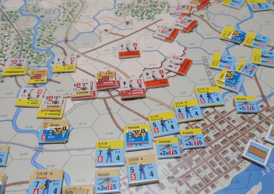 GMT「Across the Rappahannock」より「フレデリックスバーグの戦い」をソロプレイ②_b0162202_16315288.jpg
