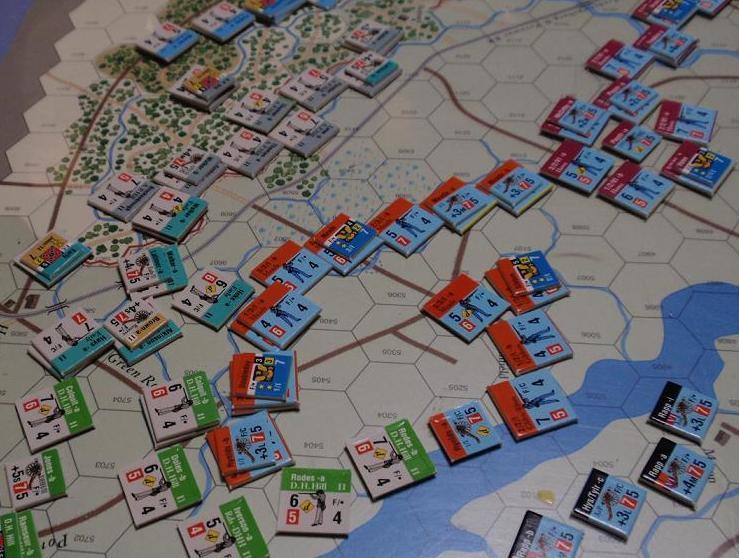 GMT「Across the Rappahannock」より「フレデリックスバーグの戦い」をソロプレイ②_b0162202_16322029.jpg