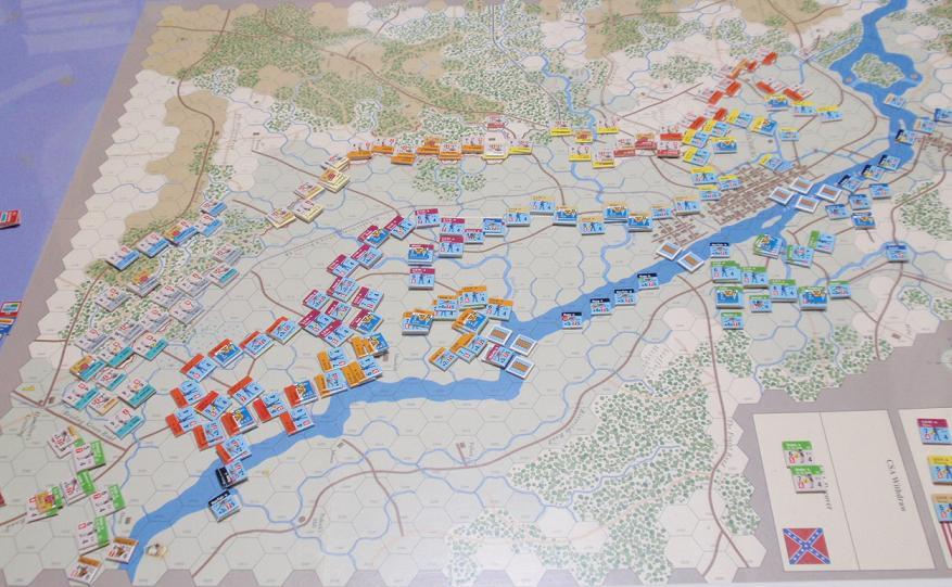 GMT「Across the Rappahannock」より「フレデリックスバーグの戦い」をソロプレイ②_b0162202_16324120.jpg