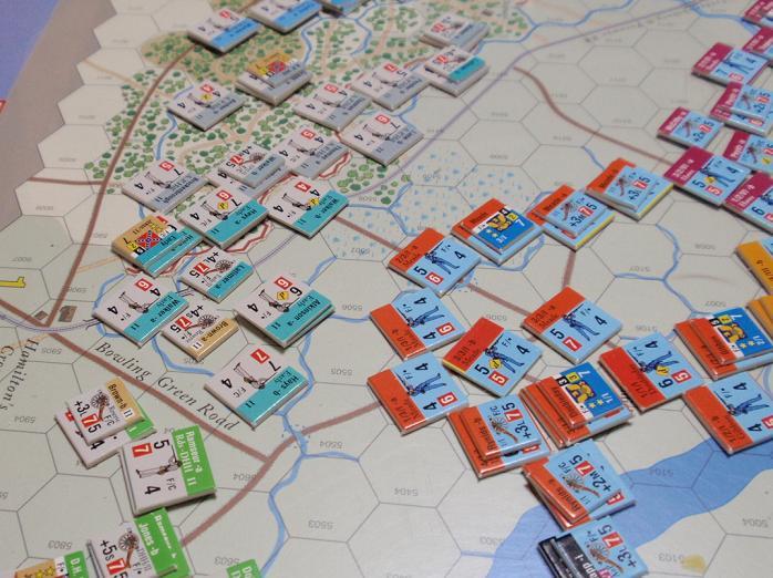 GMT「Across the Rappahannock」より「フレデリックスバーグの戦い」をソロプレイ②_b0162202_16331717.jpg