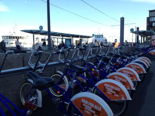 自転車レンタル City bikes_a0229904_56219.jpg