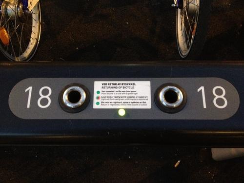 自転車レンタル City bikes_a0229904_565676.jpg