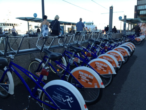 自転車レンタル City bikes_a0229904_594062.jpg