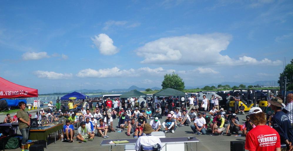 第7回琵琶湖でバスフィッシングを楽しもう会 から (5)_a0153216_20314127.jpg
