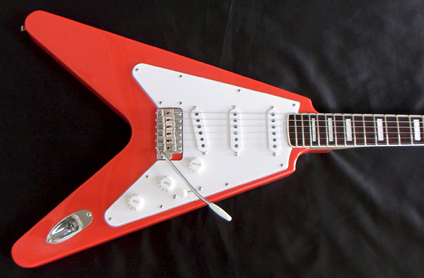 「Fiesta Red色のGibfendrix 1本目」が完成〜しました!_e0053731_1954155.jpg