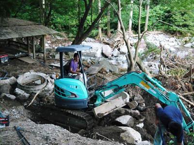 7.12北部九州大水害 復旧!!水が・・・出るぅ~!_a0254656_1843342.jpg