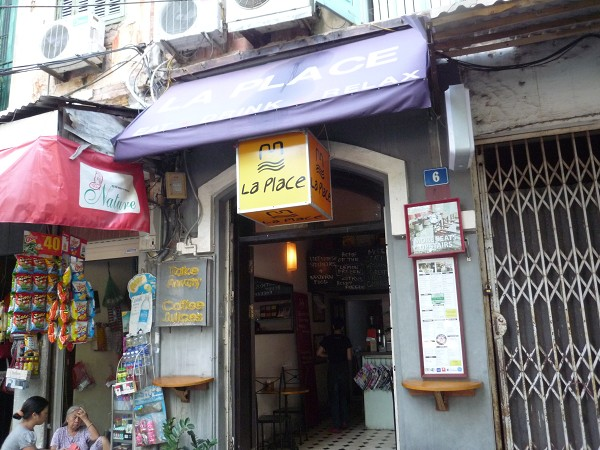 """ハノイ その7 : おしゃれカフェでカフェめしチャーカー """"La Place""""_e0152073_13381837.jpg"""
