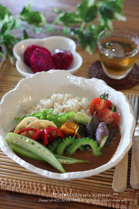 夏野菜カレー♪_c0139375_14111265.jpg