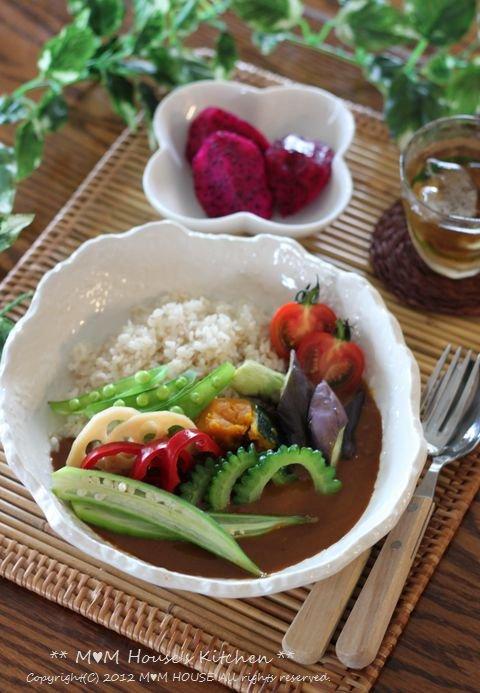 夏野菜カレー♪_c0139375_1416144.jpg