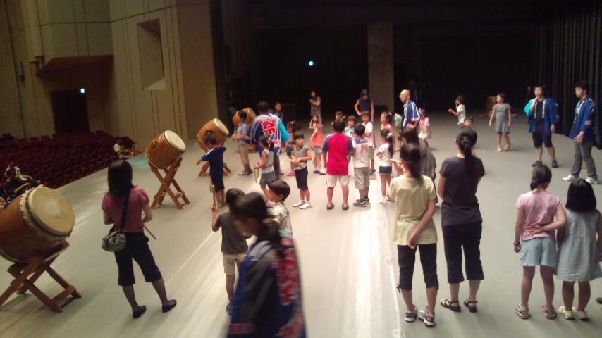 子ども和太鼓教室開催!_c0092197_185253.jpg