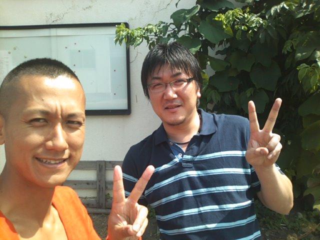 古平漁港で りゅうじさんと(^o^)v_b0127002_13295845.jpg