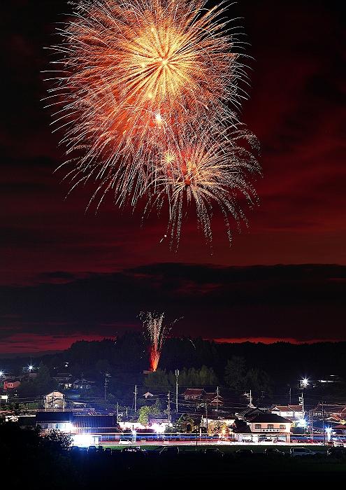 """神石高原町"""" 井関地区花火大会"""" 続き_a0140608_8462035.jpg"""