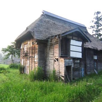 旧高柳町「荻ノ島集落」の民家の実測調査に行ってきました(その1)。_c0195909_16452398.jpg