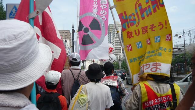 「岡山デモ~放射能汚染のない日々を希望する行進~」に参加しました。_d0155415_153056.jpg