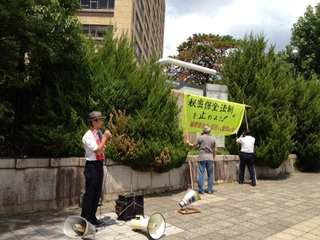 7/30 街頭宣伝_c0241022_18524624.jpg
