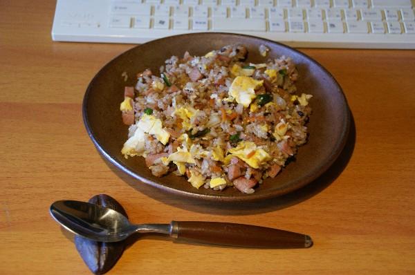 お昼は焼き飯_e0166355_12165670.jpg