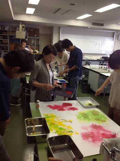 府美研で実技講習会2012/7月_d0076558_1034561.jpg