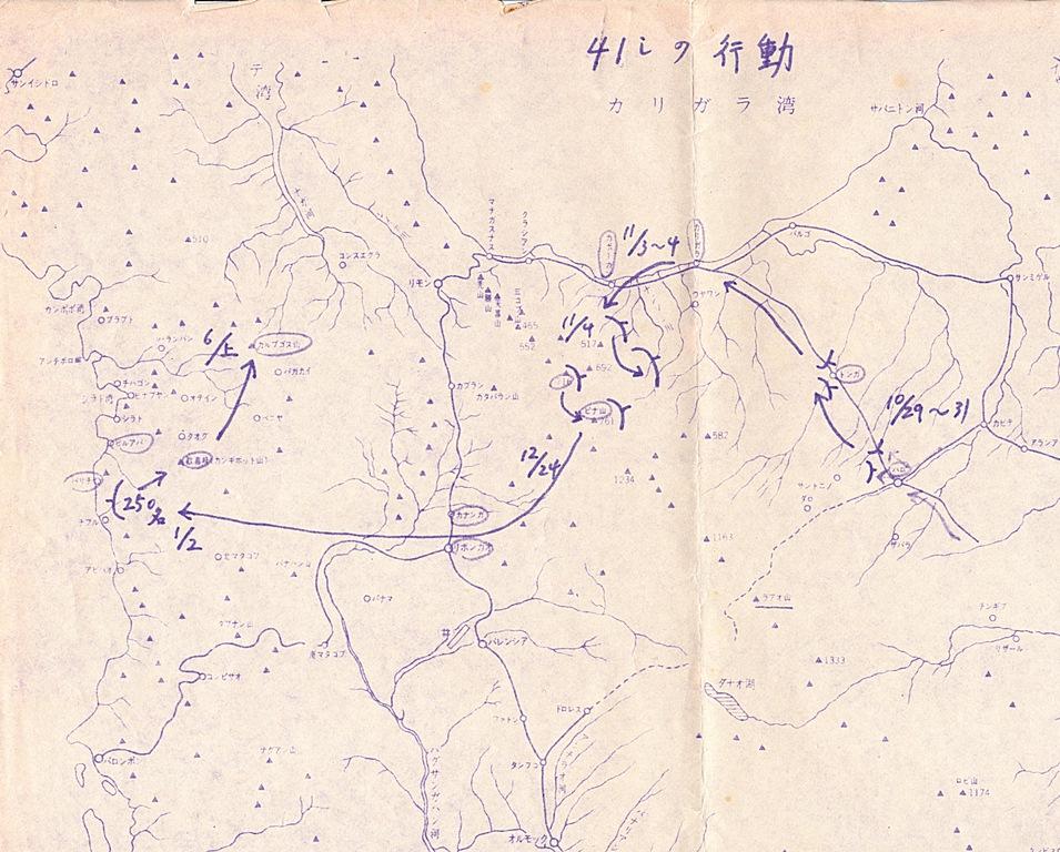 福山歩兵第41連隊のレイテ島における戦跡調査報告書①_c0060075_1443657.jpg