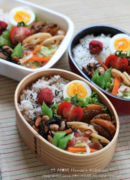 ホタテのしぐれ煮弁当 ☆ 【レシピ】台湾ラーメン ペースト♪_c0139375_13464140.jpg