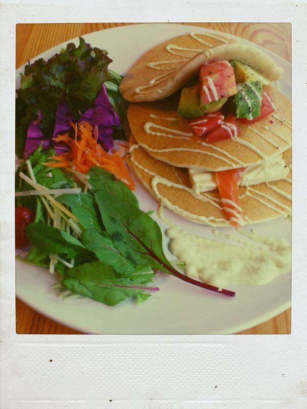 名古屋でいただける美味しいパンケーキ@Vege_b0065587_193657100.jpg