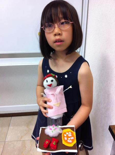 あべの教室 ペットボトルの人形作り_f0215199_05544100.jpg