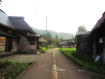 旧高柳町「荻ノ島集落」の民家の実測調査に行ってきました(その2)。_c0195909_15272122.jpg