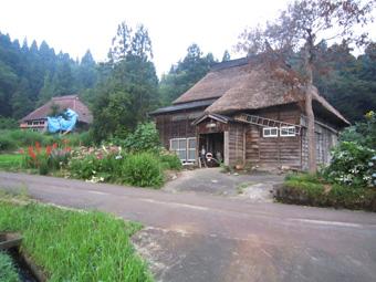 旧高柳町「荻ノ島集落」の民家の実測調査に行ってきました(その2)。_c0195909_15274094.jpg
