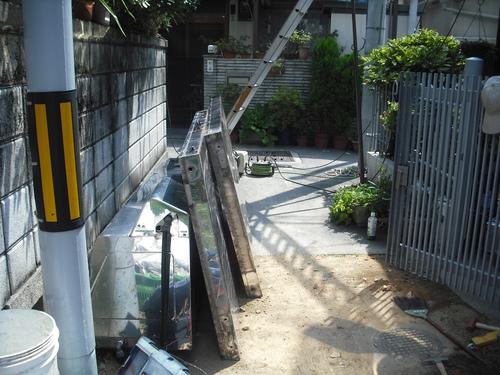 ソーラー撤去工事_e0184941_14471653.jpg