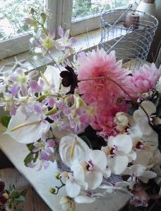 お供え花。。。_a0229658_162757100.jpg