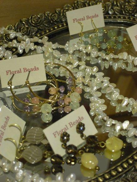 Floral Beadsの天然石アクセサリー_c0173874_13541819.jpg