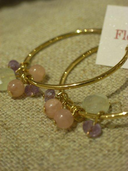 Floral Beadsの天然石アクセサリー_c0173874_1354327.jpg