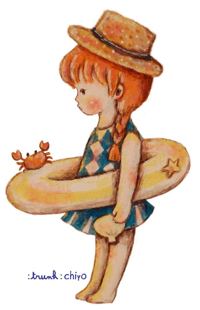 池袋ロフト:trunk:chiyoフェア7/30-8/12(来場8/12)吉祥寺にも巡回展示します!_f0223074_2151071.jpg