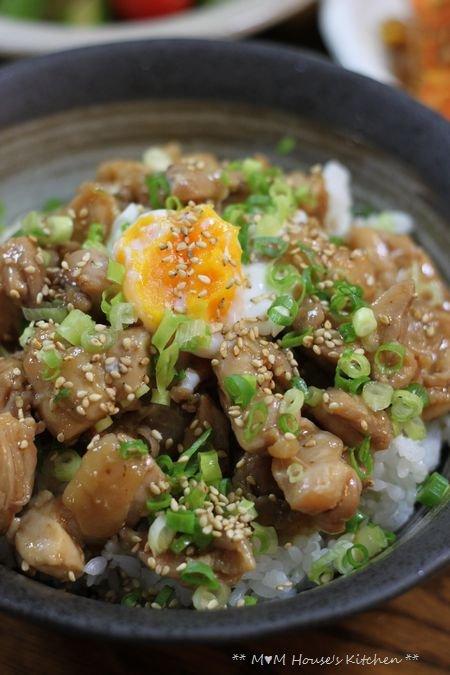 眠い・・・(∋д∈) タコライス ☆ 鶏の照り煮丼とつまみ♪_c0139375_1240681.jpg