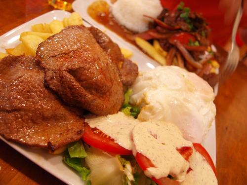 今度はフィレンツェでペルー料理を試してみた!!_c0179785_574687.jpg