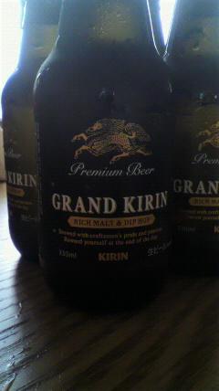 ワタクシはこの時期しかビールは呑まないんだぜ。_d0096499_15225973.jpg