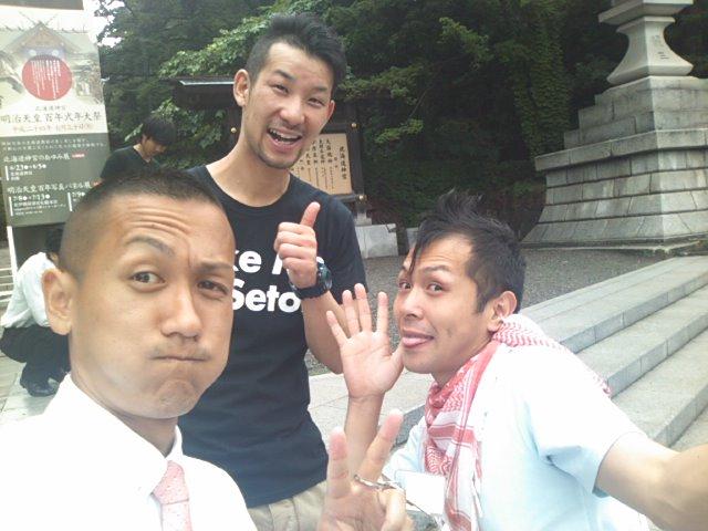 チームトミーで神宮参拝(^^)_b0127002_9545912.jpg