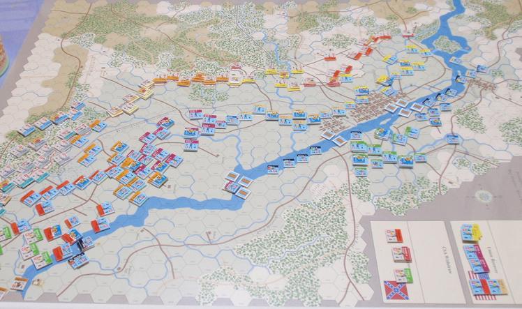 GMT「Across the Rappahannock」より「フレデリックスバーグの戦い」をソロプレイ③_b0162202_1829421.jpg